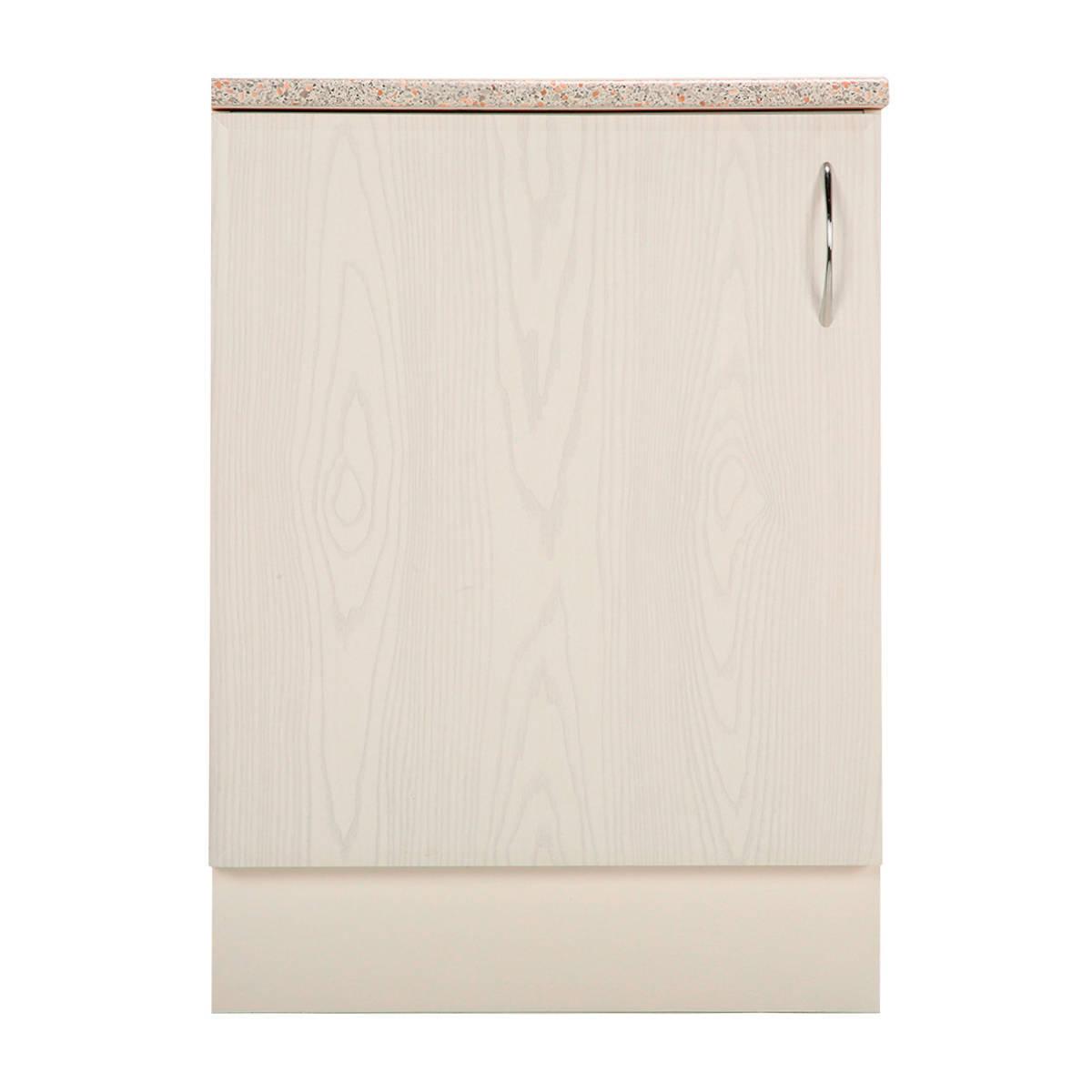 Шкаф напольный Рондо 85х60 см МДФ цвет белый