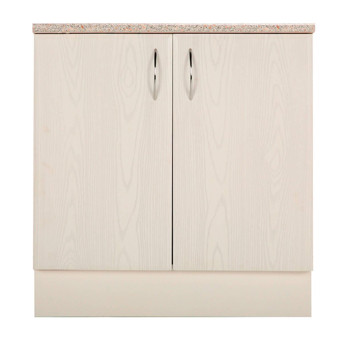 Шкаф напольный Рондо 85х80 см МДФ цвет белый