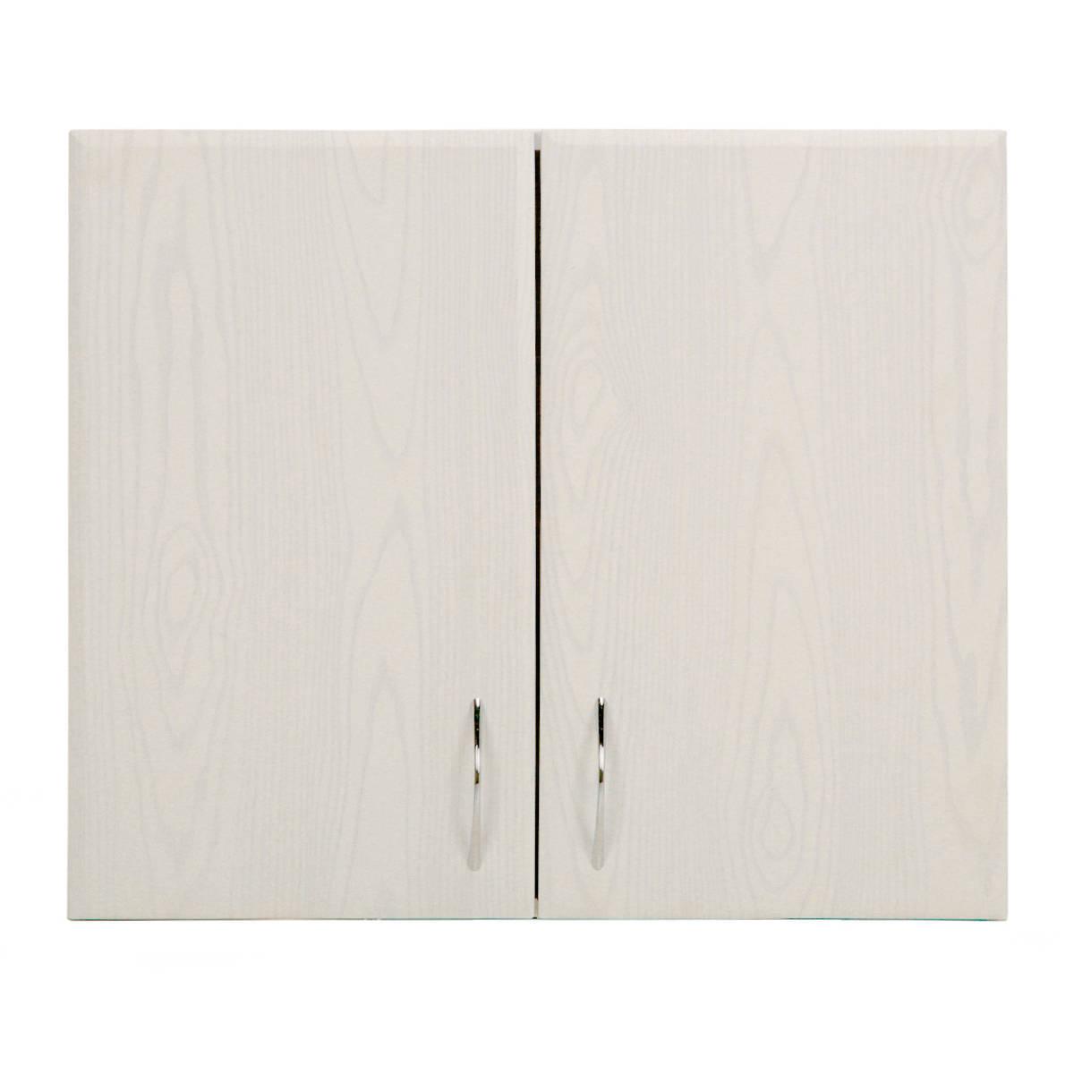 Шкаф навесной Рондо 68х80 см МДФ цвет белый