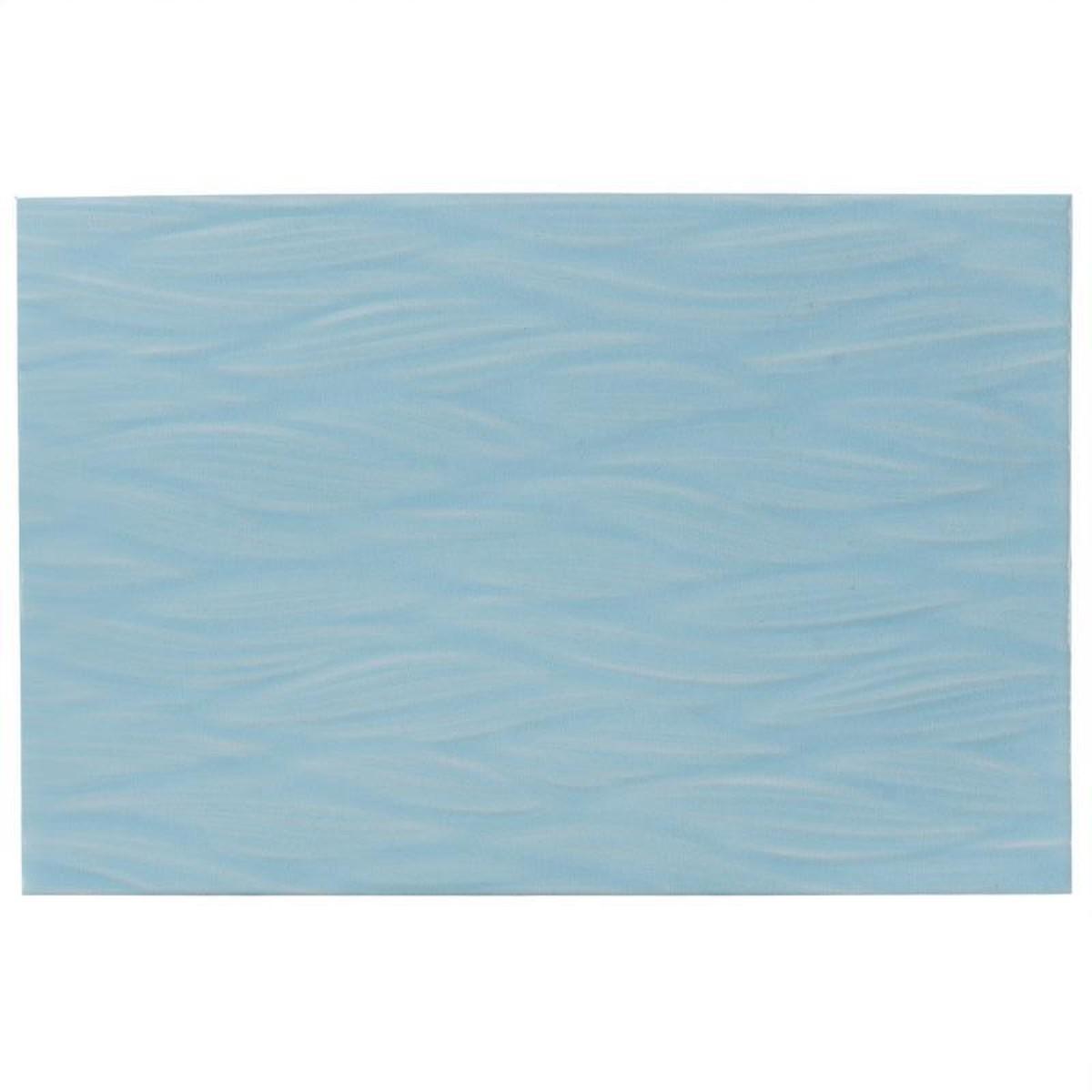Плитка настенная Эквилибрио 30х20 см 1.2 м2 цвет голубой