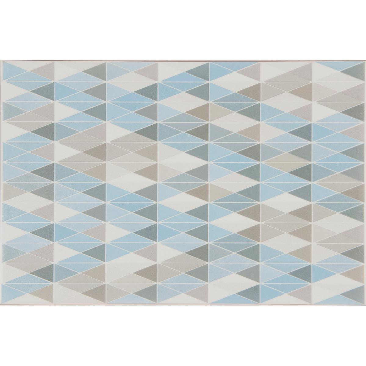 Декор «Эквилибрио» 30х20 см цвет голубой