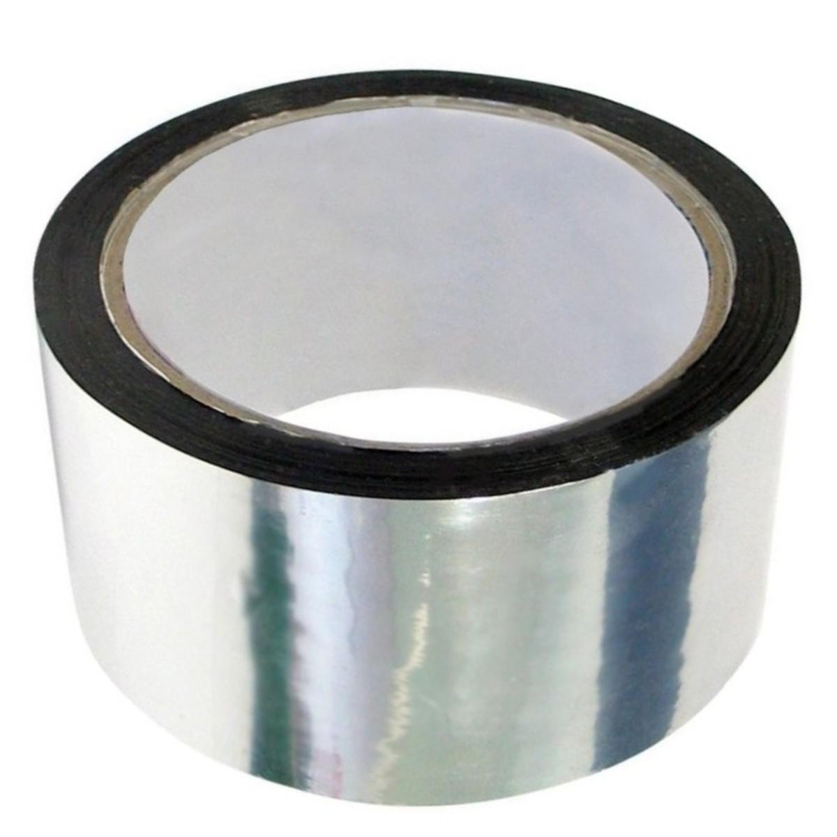 Клейкая лента металлизированная 50 мм х 50 м