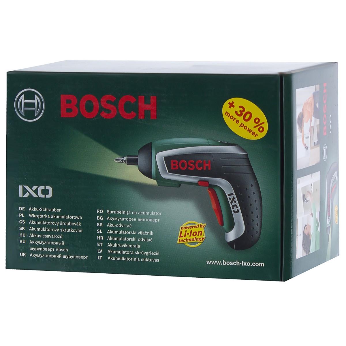 Отвертка Аккумуляторная Bosch Ixo Iv Li-Ion 36 В 15 Ач