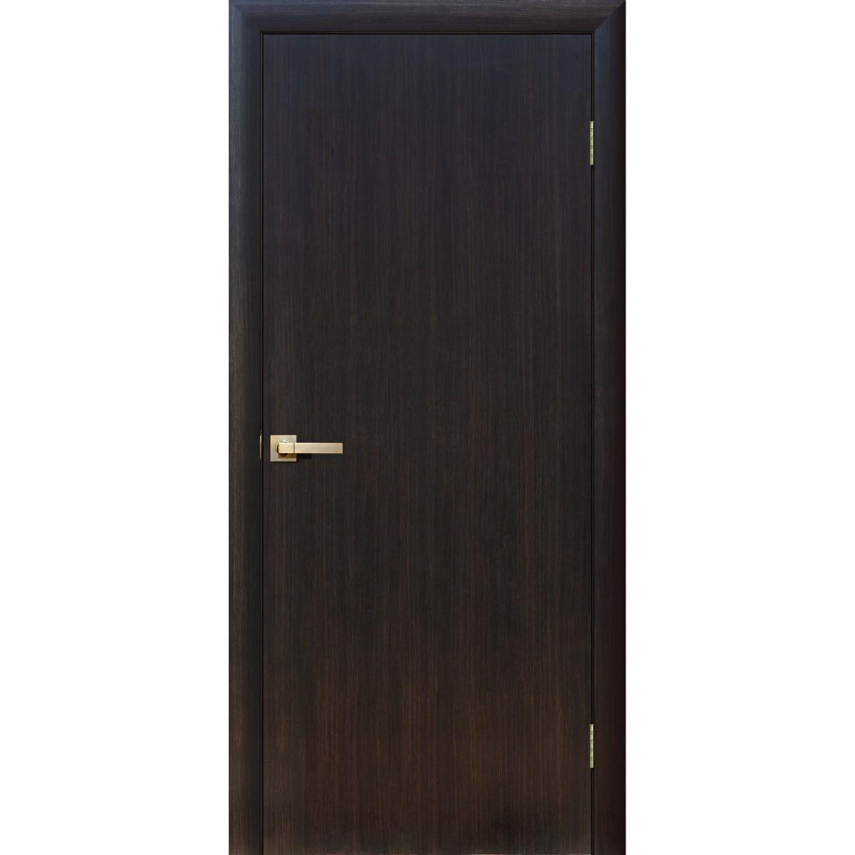 Дверь межкомнатная глухая Стандарт 80x200 см ламинация цвет дуб феррара