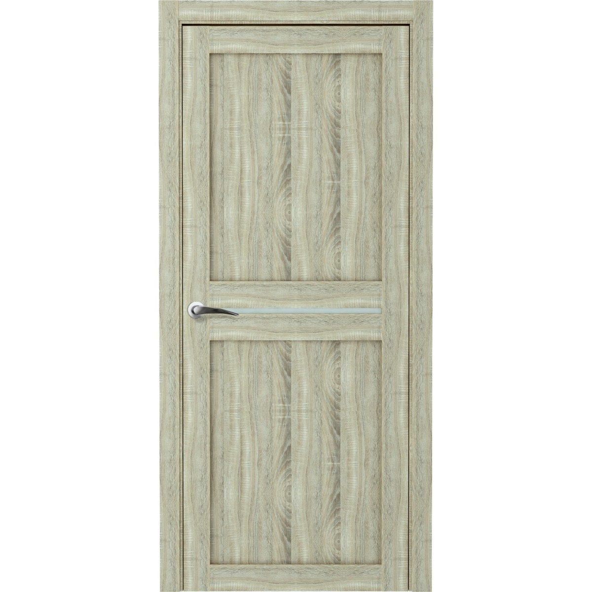 Дверь Межкомнатная Глухая Вита 60x200 Ламинация Дуб Натуральный С Фурнитурой