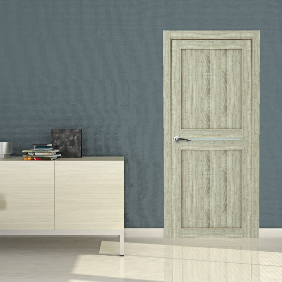 Дверь Межкомнатная Глухая Вита 70x200 Ламинация Дуб Натуральный С Фурнитурой