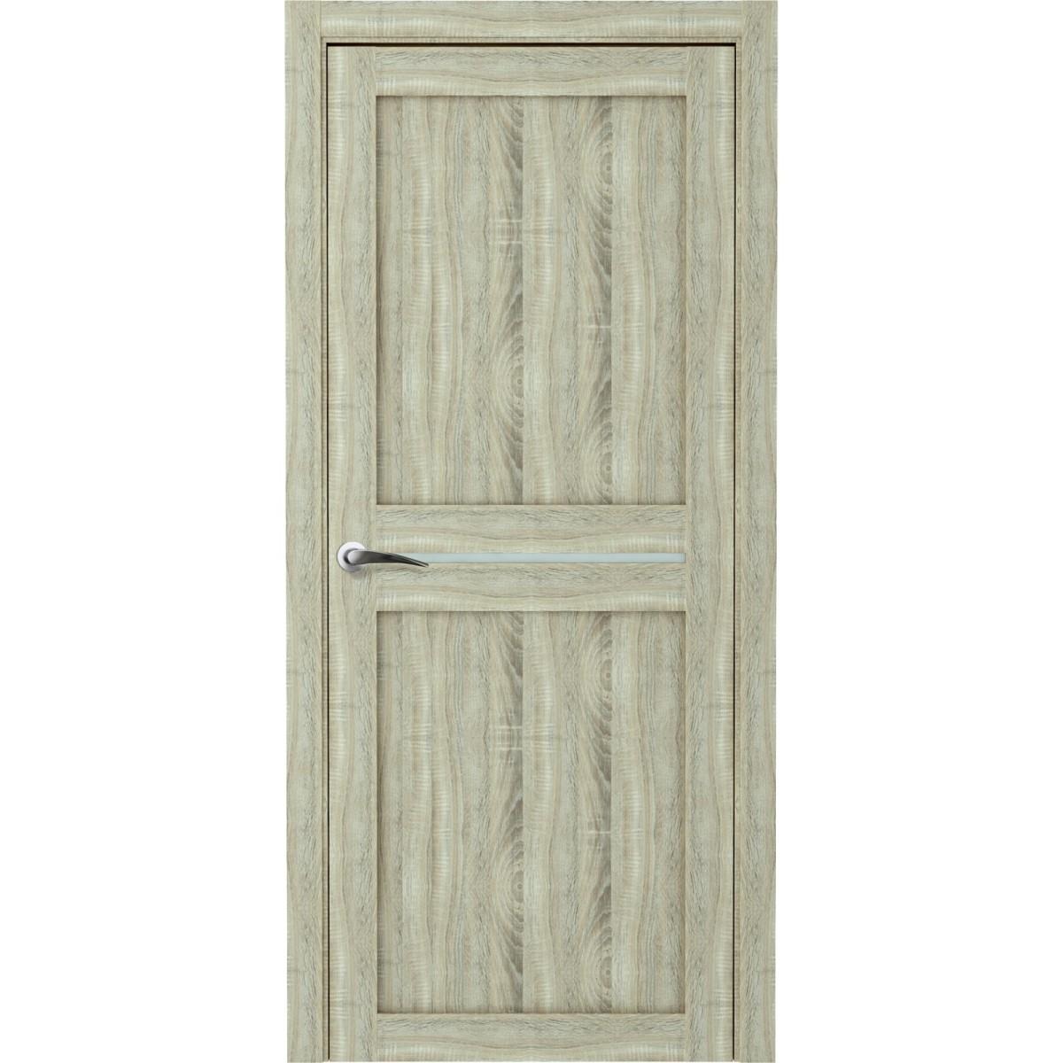 Дверь Межкомнатная Глухая Вита 80x200 Ламинация Дуб Натуральный С Фурнитурой