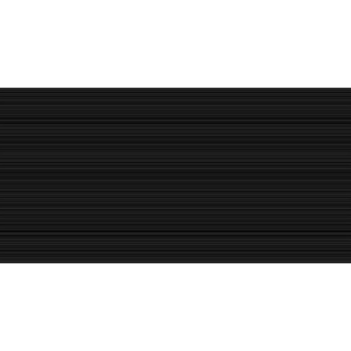 Плитка настенная Ночь 25x50 см 1.375 м2 цвет черный