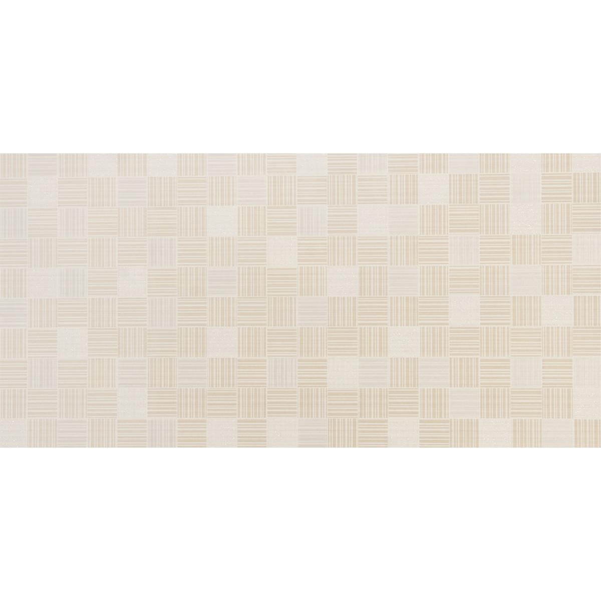 Вставка Пиксел 25х50 см цвет белый