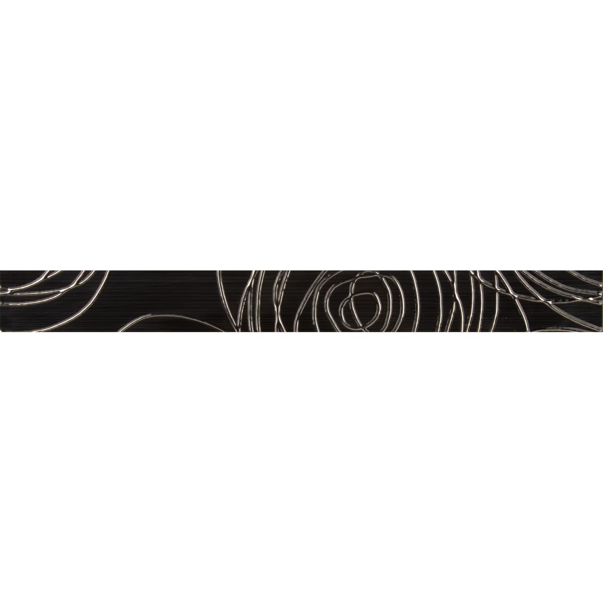 Бордюр «Ночь» 5.4х50 см цвет черный