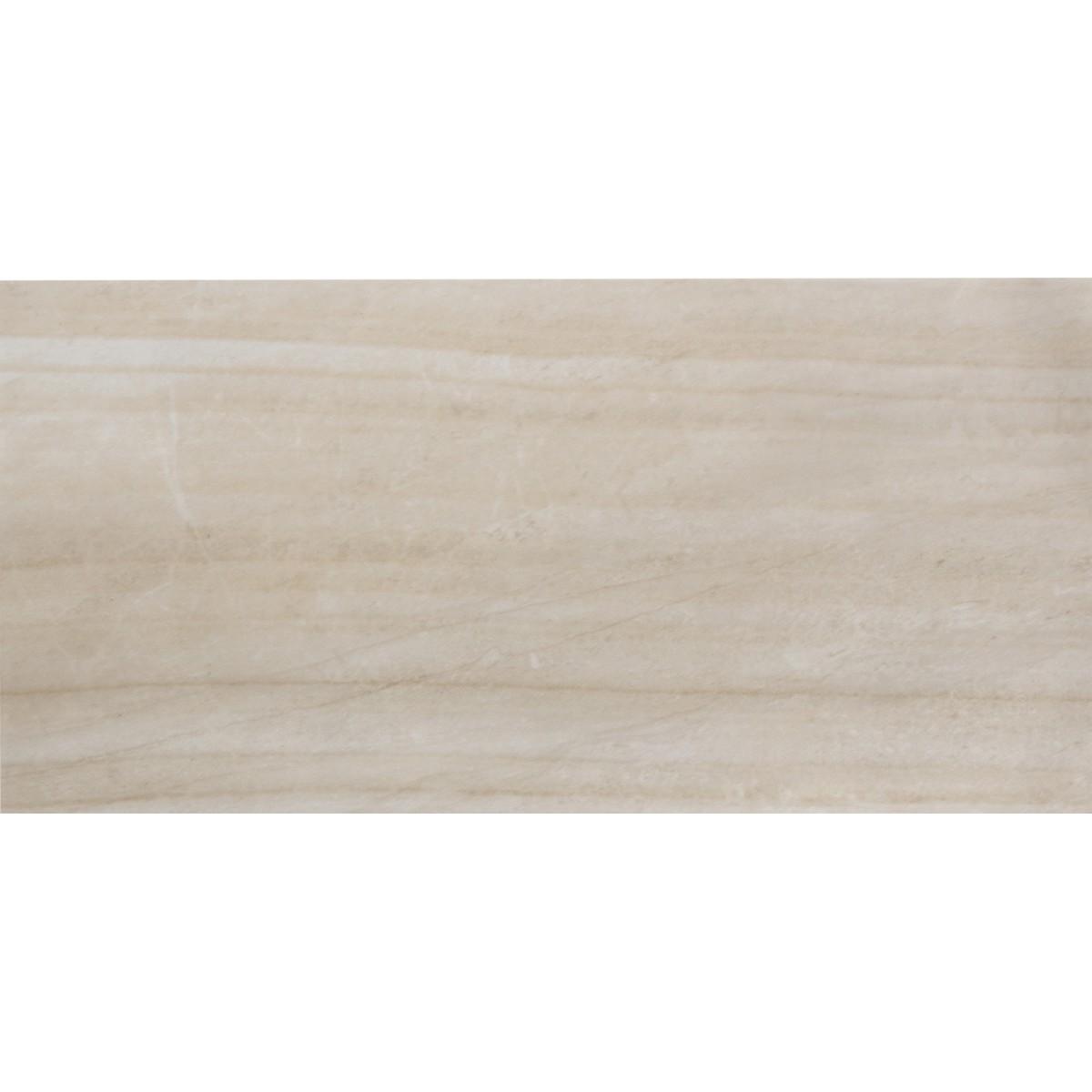 Плитка настенная Плаза 25x50 см 1 м2 цвет бежевый