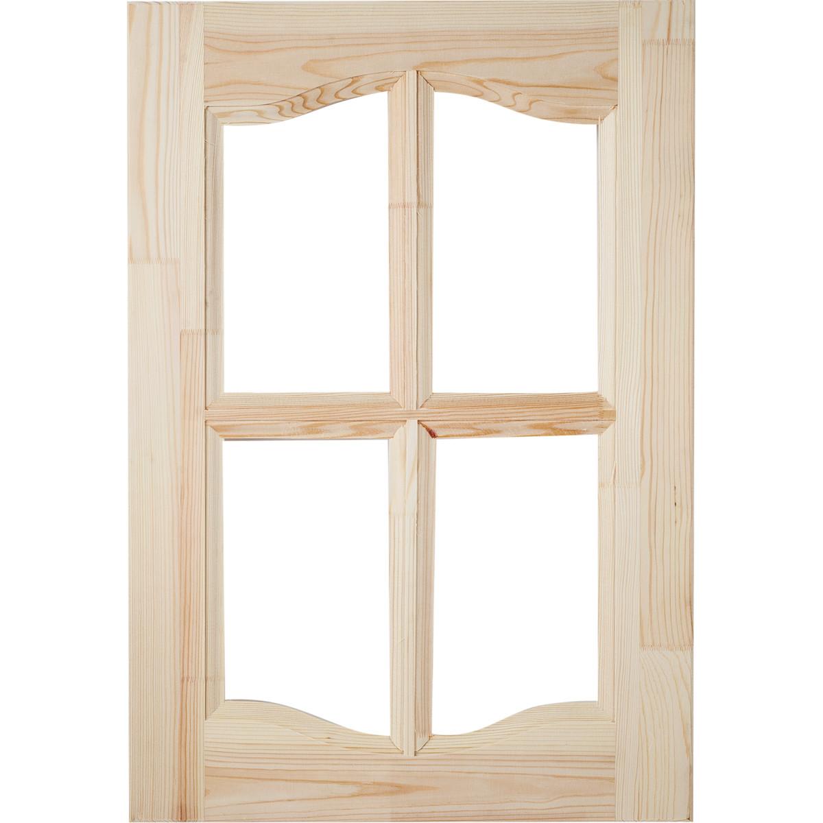 Фасад шкафа хвоя 570х396х20 мм под стекло