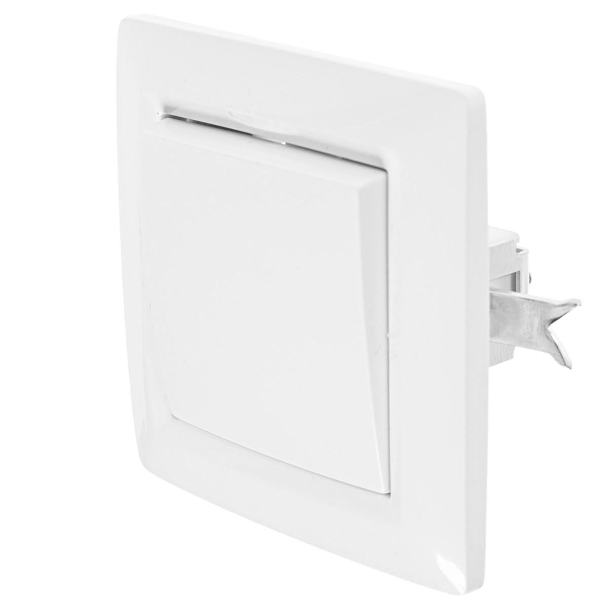Выключатель встраиваемый Reone 1 клавиша цвет белый