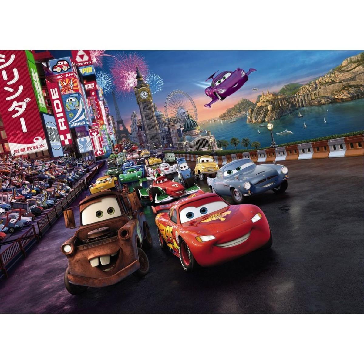 Фотопанно бумажное «Cars Race» 184х254 см