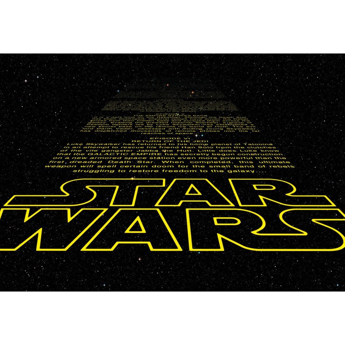 Фотопанно бумажное «Star Wars Intro» 368х254 см