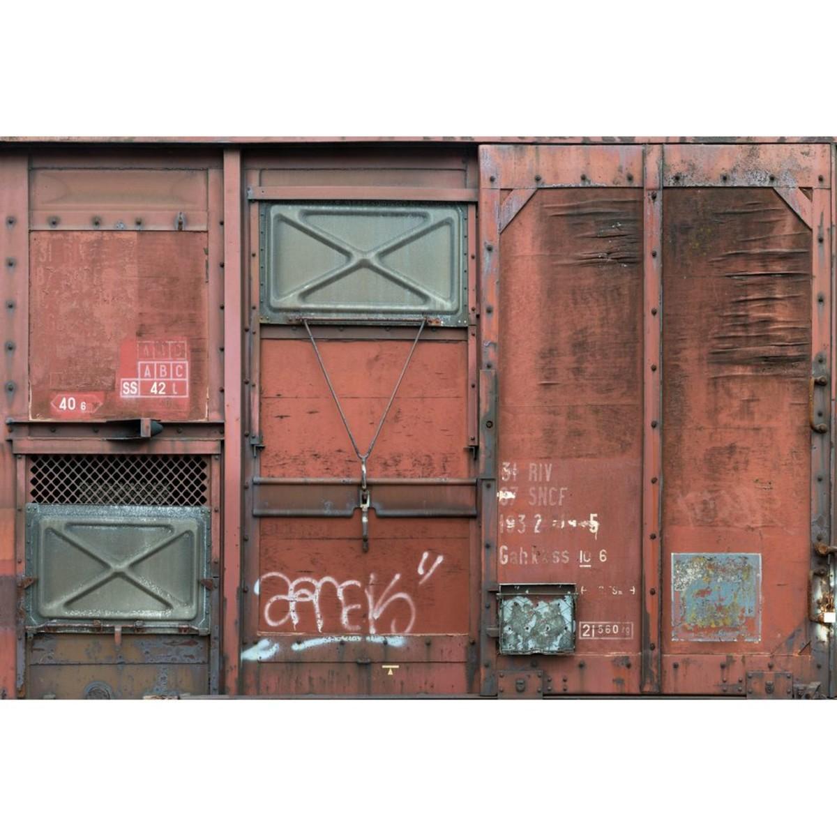 Фотопанно флизелиновое «Wagon» 368х248 см