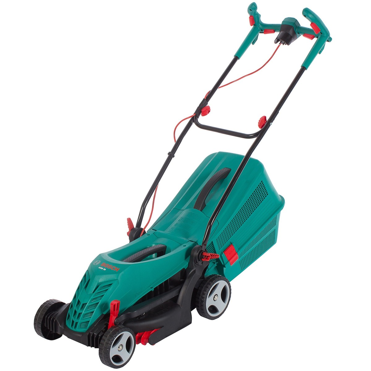 Газонокосилка электрическая Bosch ARM 3650 1400 Вт 37 см