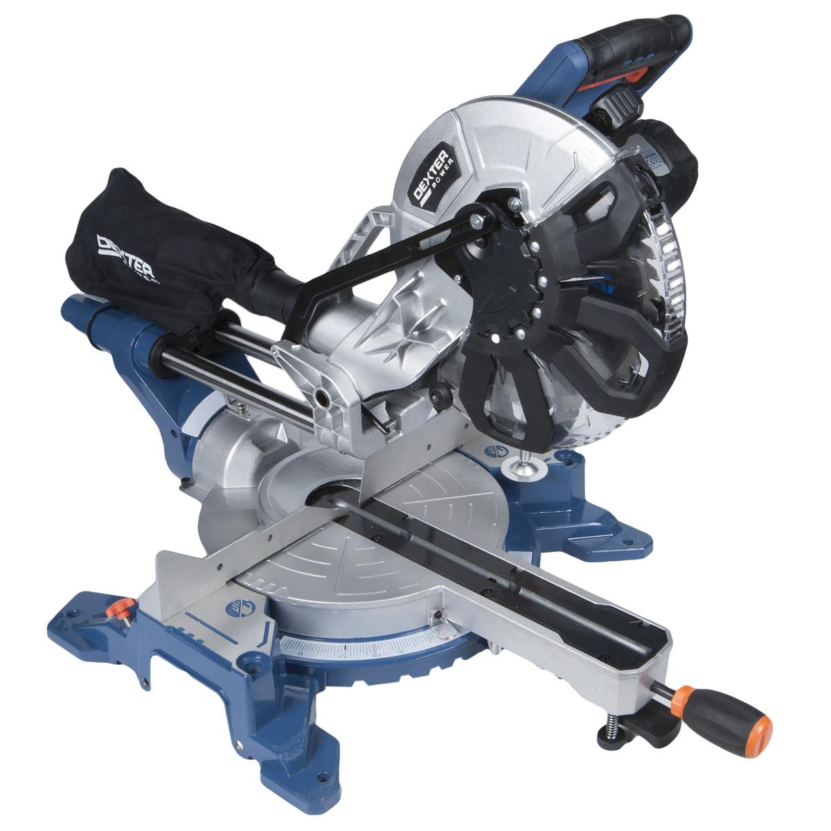 Пила торцовочная Dexter PowerJ1G‐ZP28‐255A 2000 Вт 255х30 мм