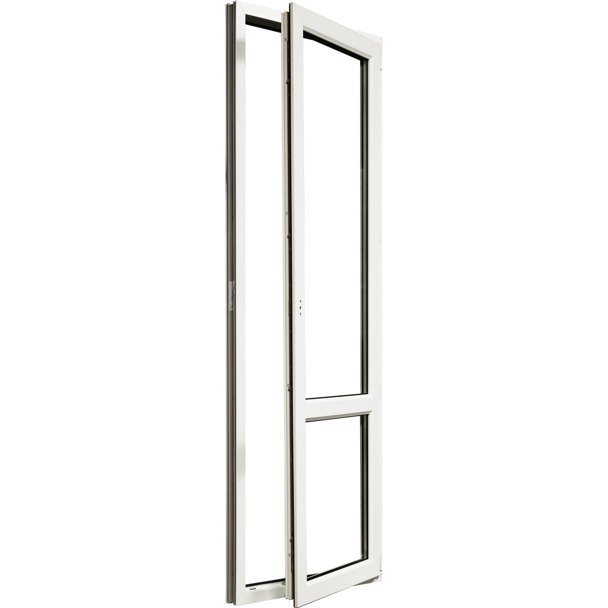 Дверь балконная ПВХ 218(215)x67 см правая двухкамерное