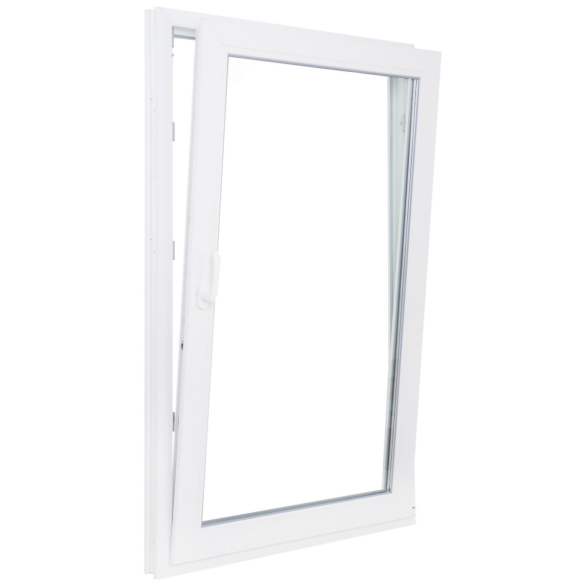 Окно ПВХ одностворчатое 116х100 см поворотно-откидное правое