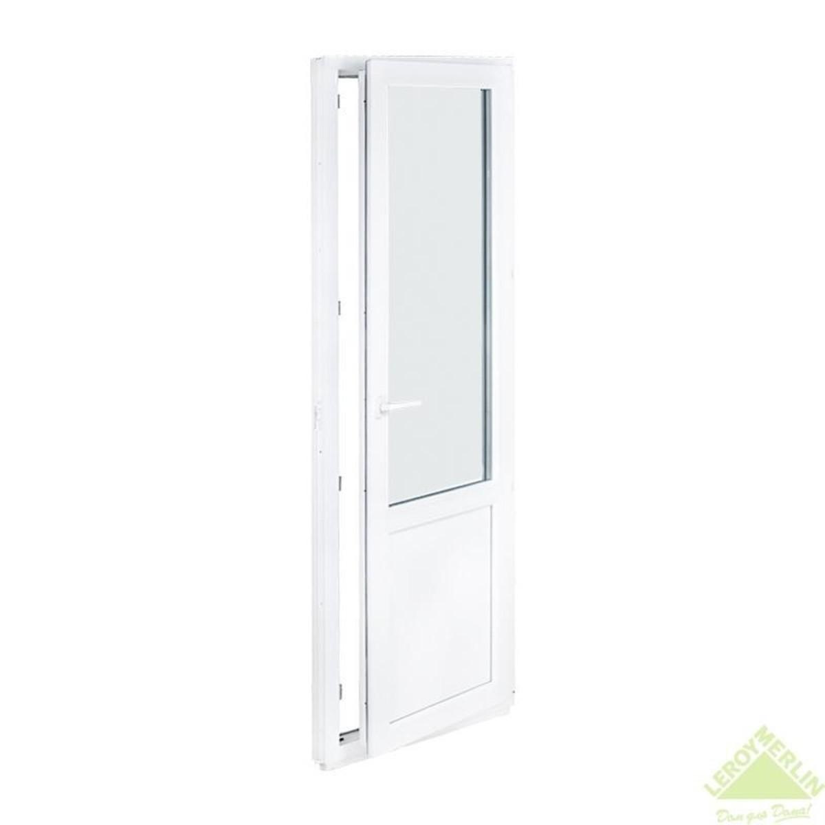 Дверь балконная ПВХ 67x218 см правая
