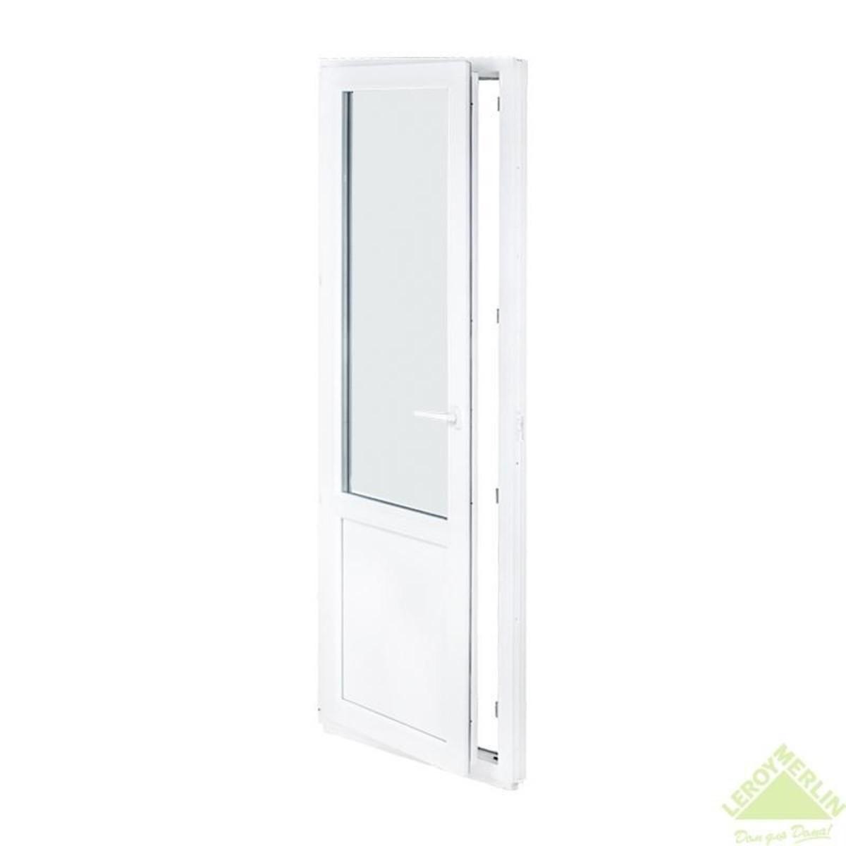 Дверь балконная ПВХ 67x218 см левая
