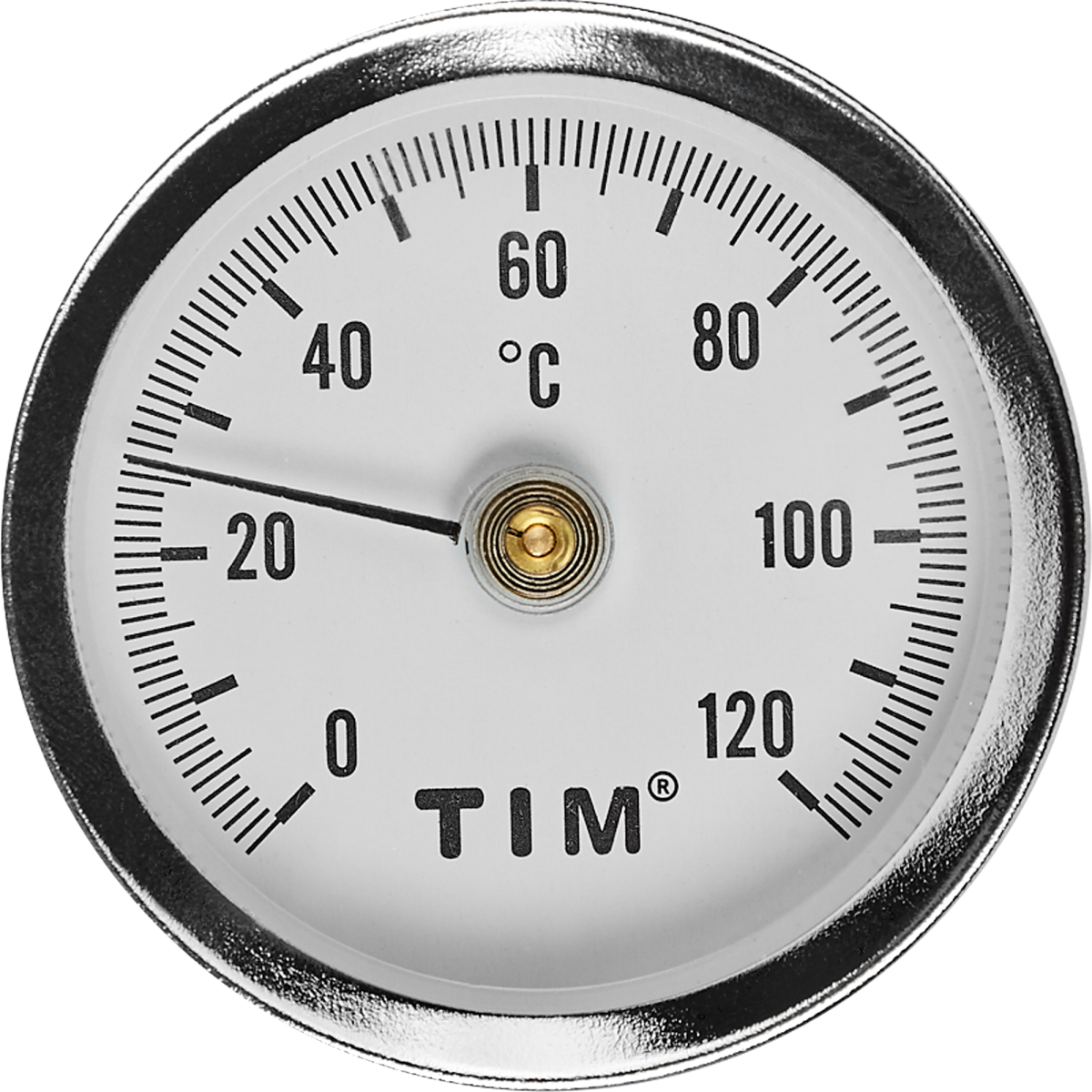 Термометр для воды накладной 120 град