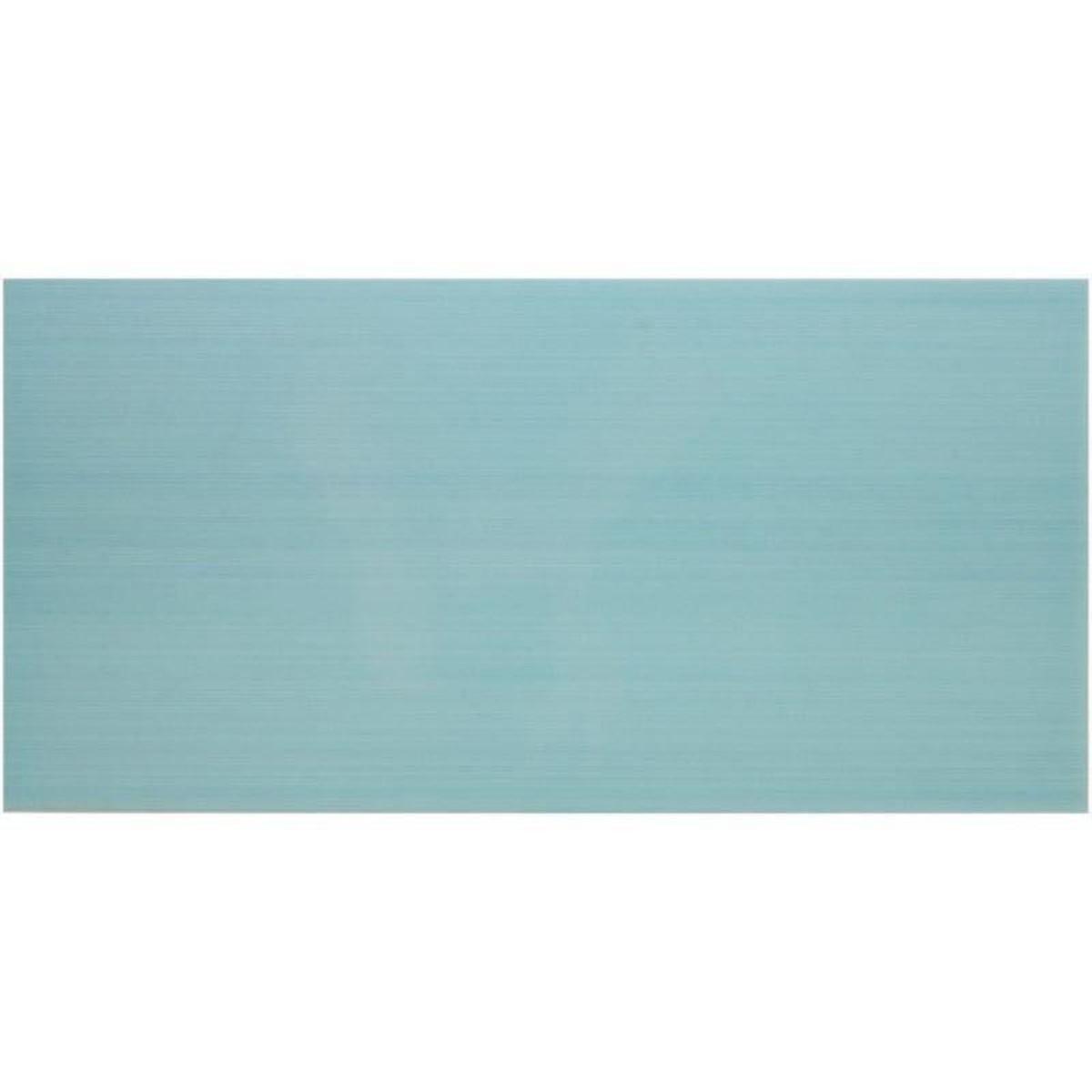 Плитка настенная Фреска 20х40 см 1.2 м2 цвет голубой
