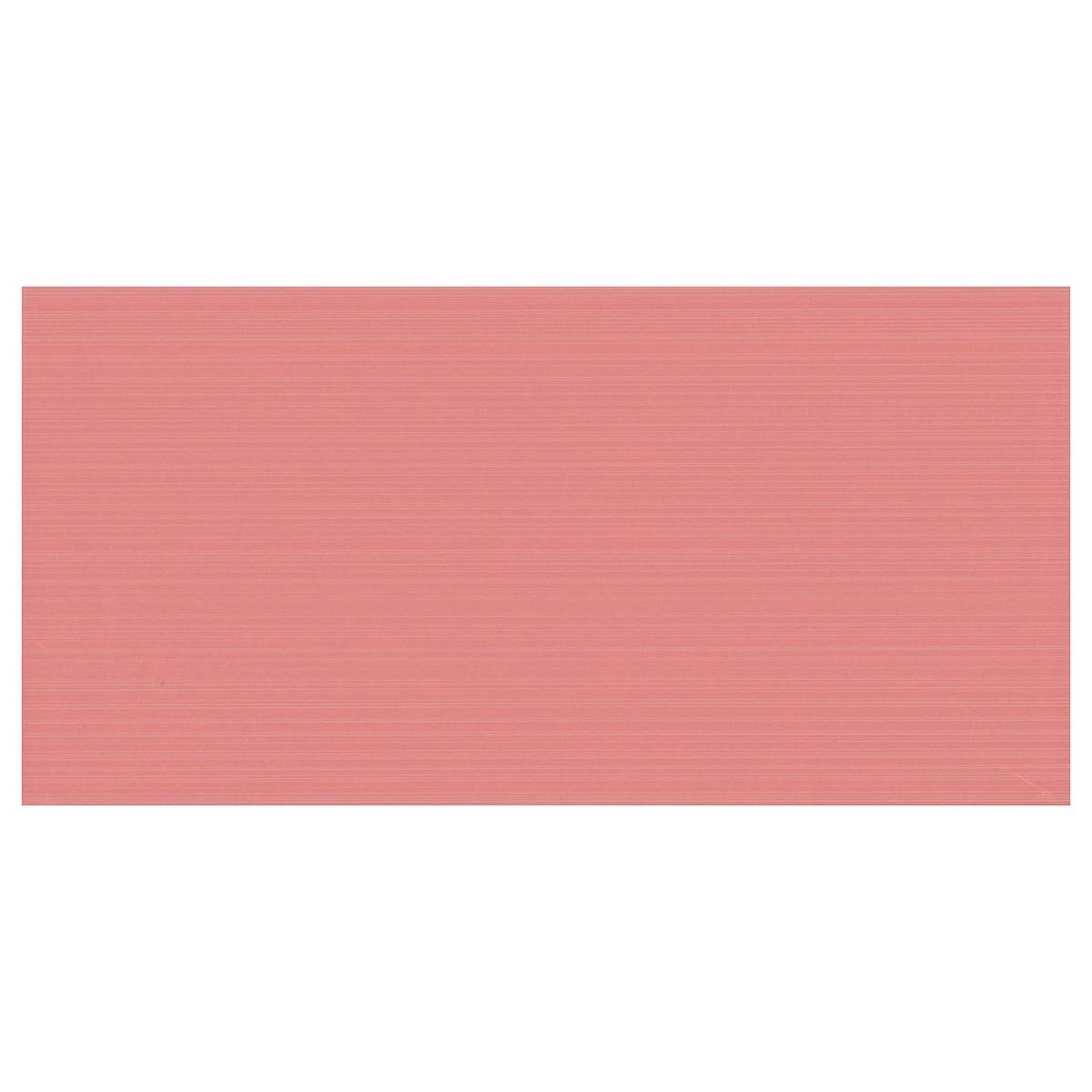 Плитка настенная Фрэска 20х40 см 1.2 м2 цвет розовый