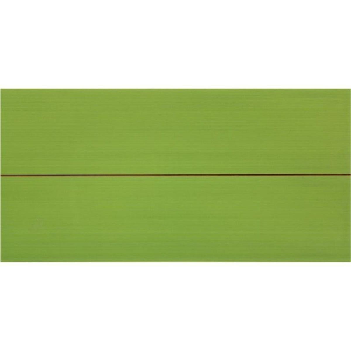 Вставка Фрэска 2 20х40 см цвет салатный