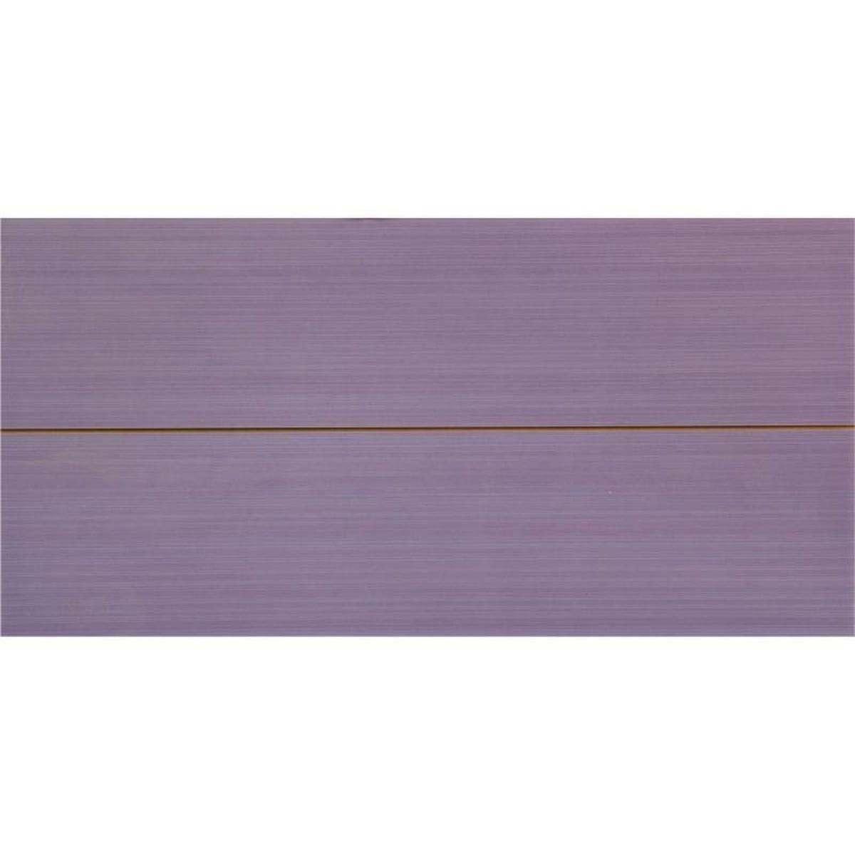Вставка Фрэска 2 20х40 см цвет лиловый