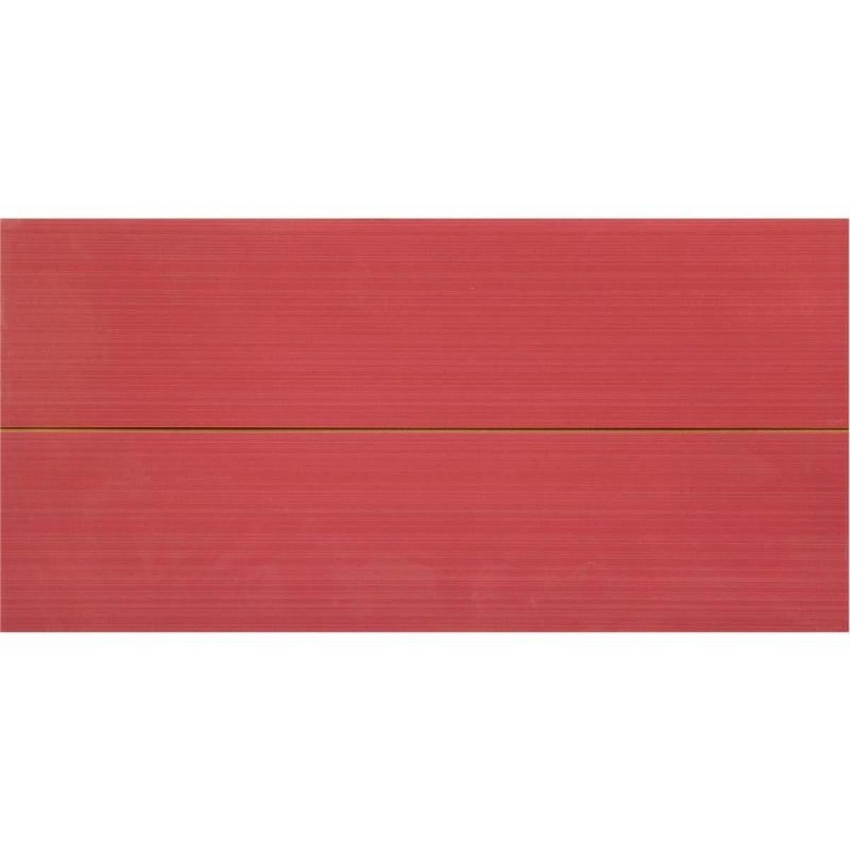 Вставка Фрэска 2 20х40 см цвет бордо