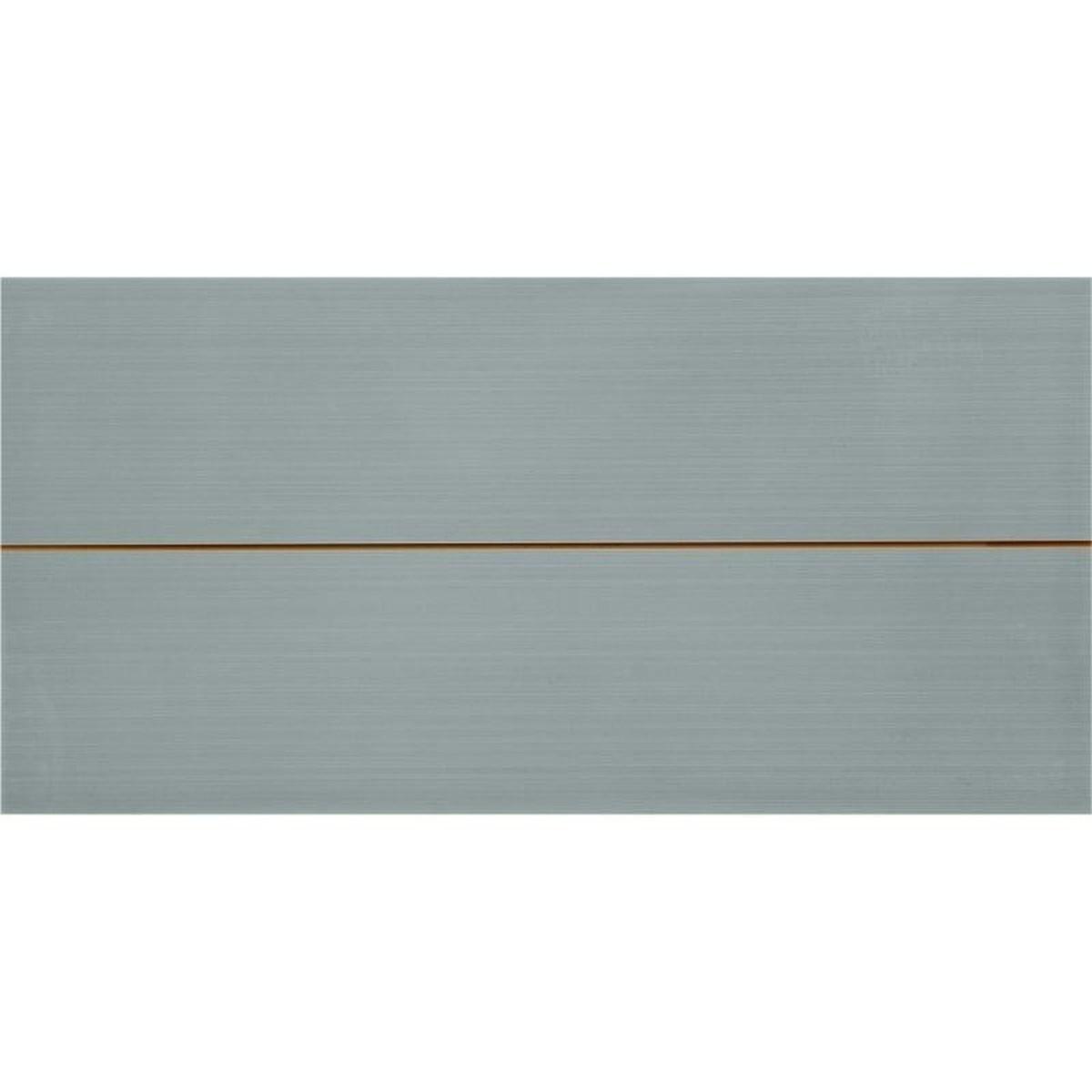 Декор «Фрэска 2» 20х40 см цвет серый
