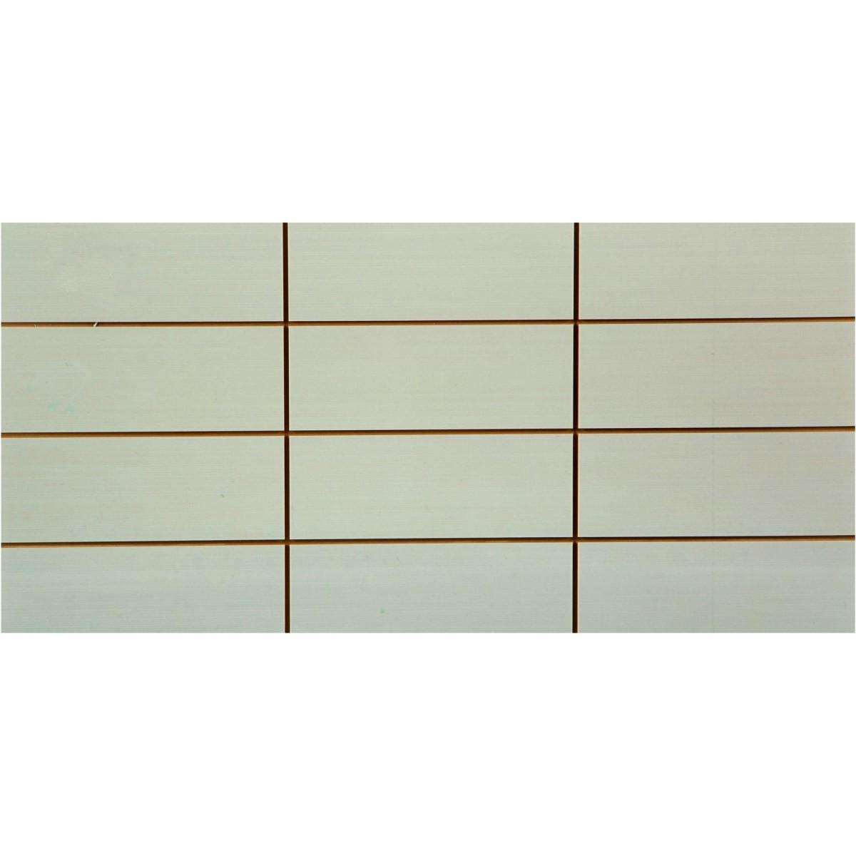 Вставка Фрэска 12 20х40 см цвет белый