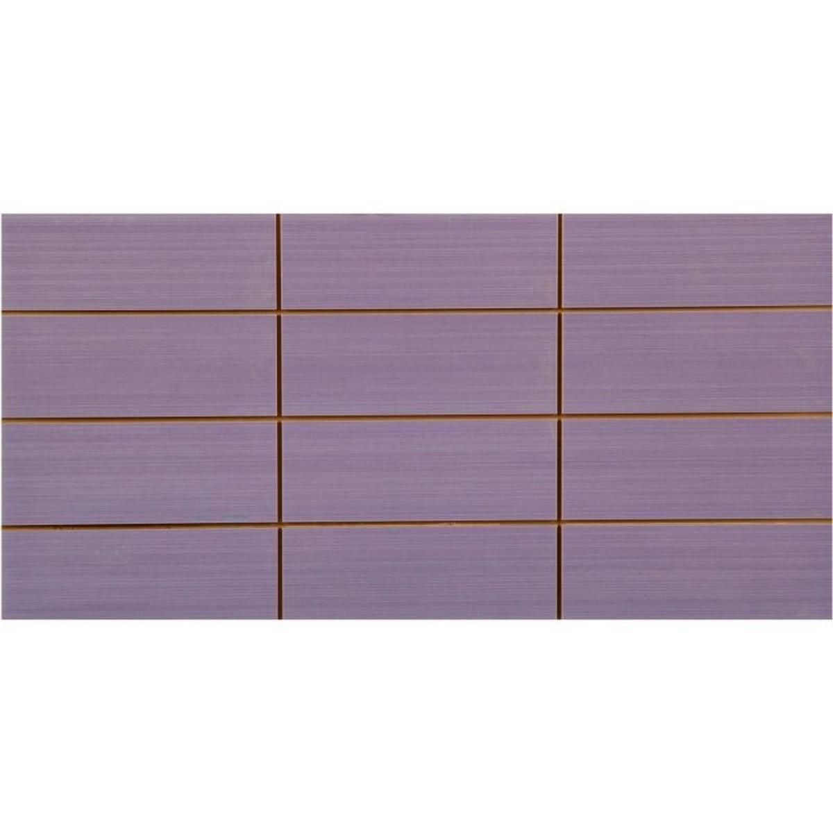 Вставка Фрэска 12 20х40 см цвет лиловый