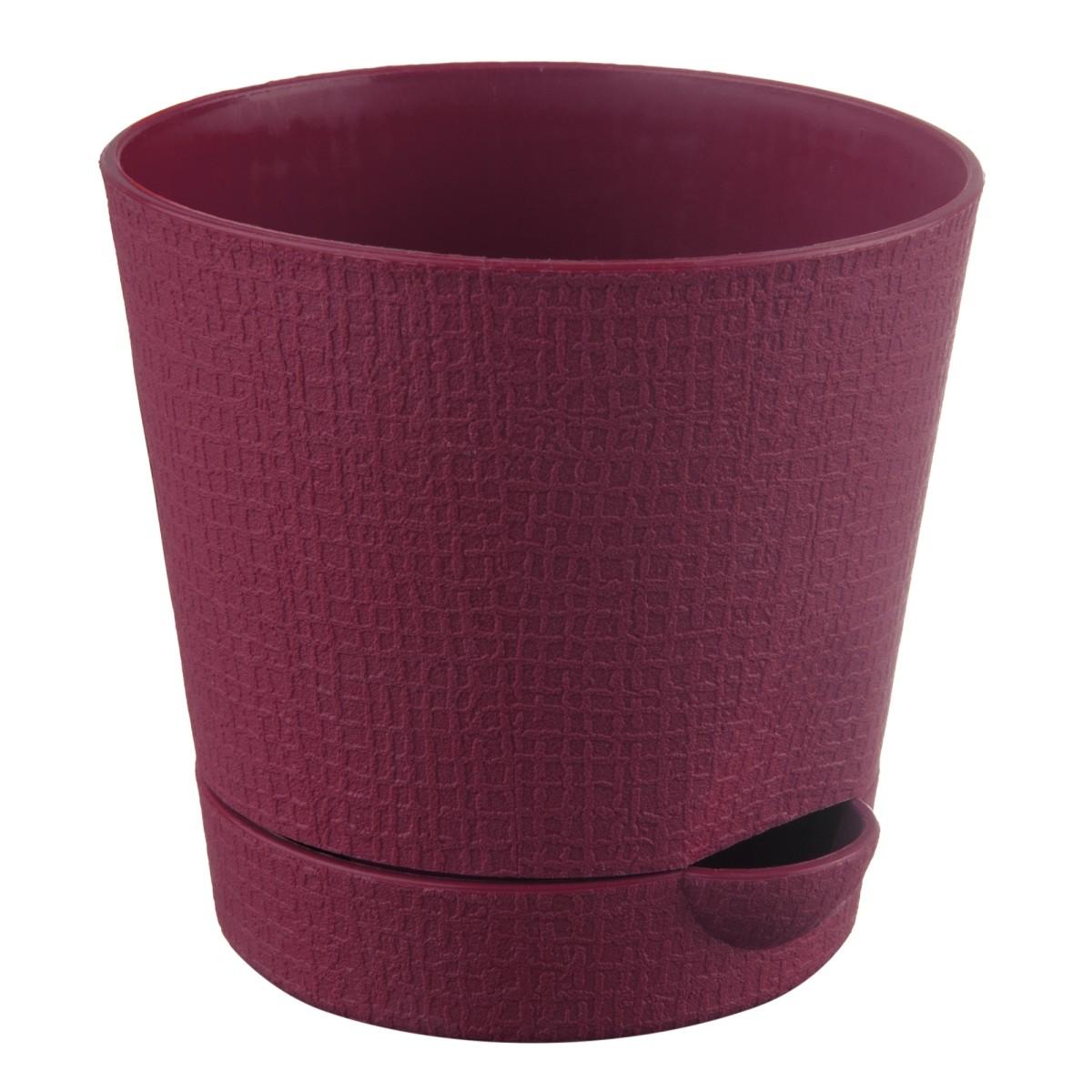 Горшок цветочный «Партер» D11 0 7л. пластик Красный
