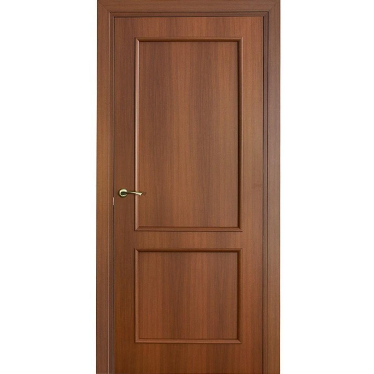 Дверь Межкомнатная Остеклённая Фортунато Классика 90x200 Ламинация Цвет Орех