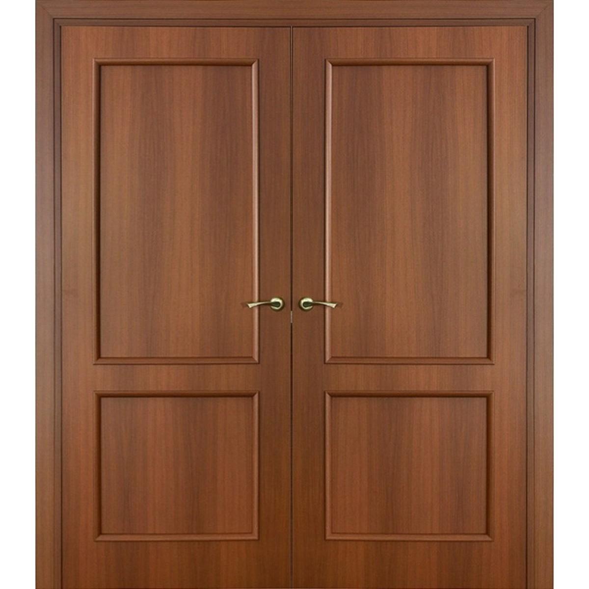 Дверь Межкомнатная Остеклённая Фортунато Классика 2x60x200 Ламинация Цвет Орех