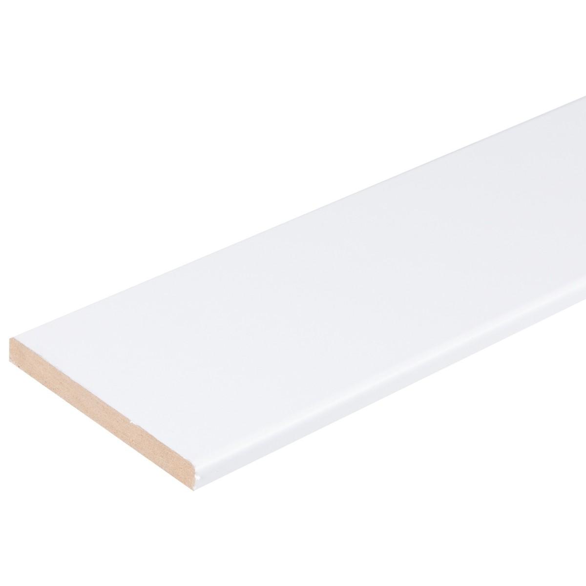 Добор 80 мм ламинация цвет белый