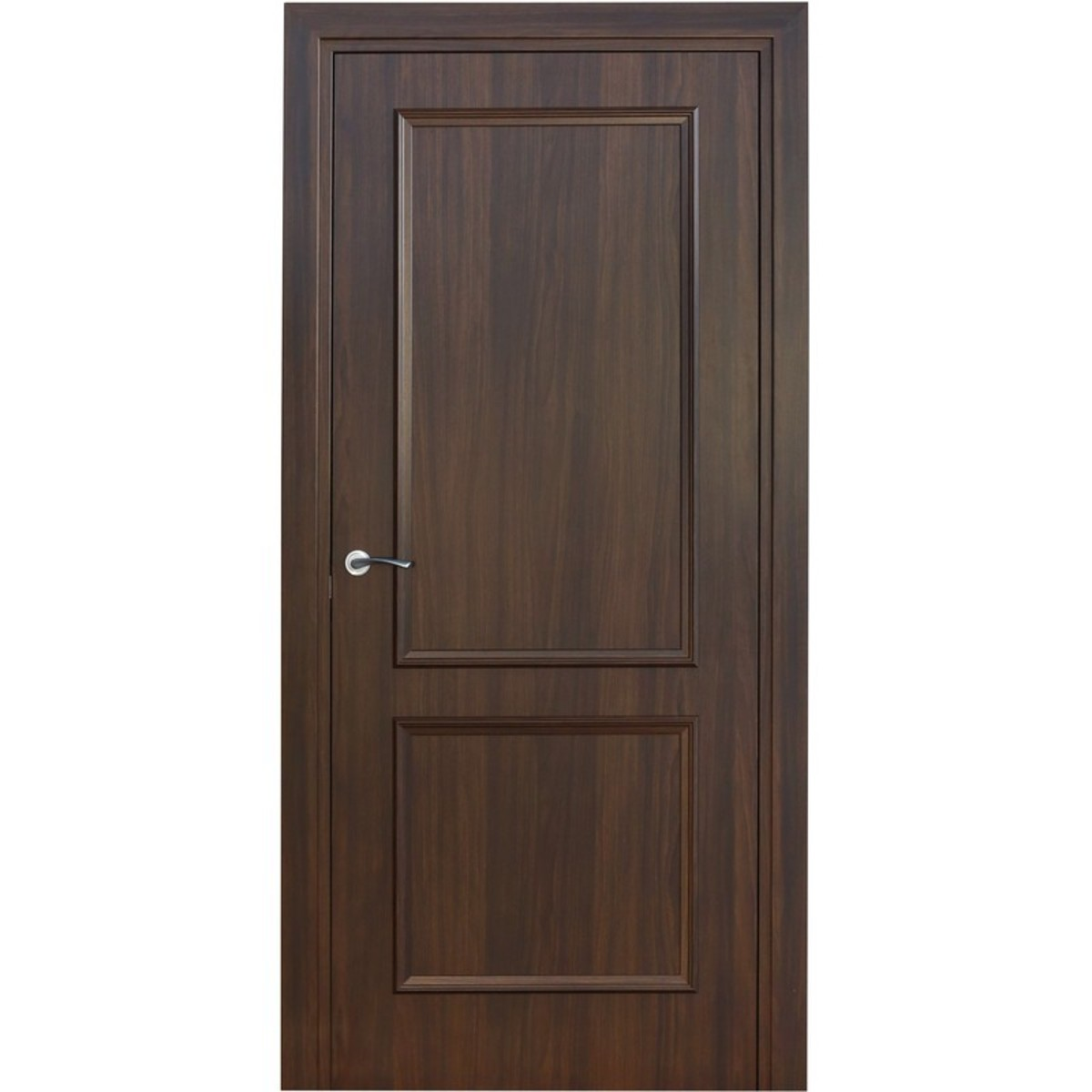Дверь Межкомнатная Глухая Altro 70x200 Ламинация Цвет Орех Марроне