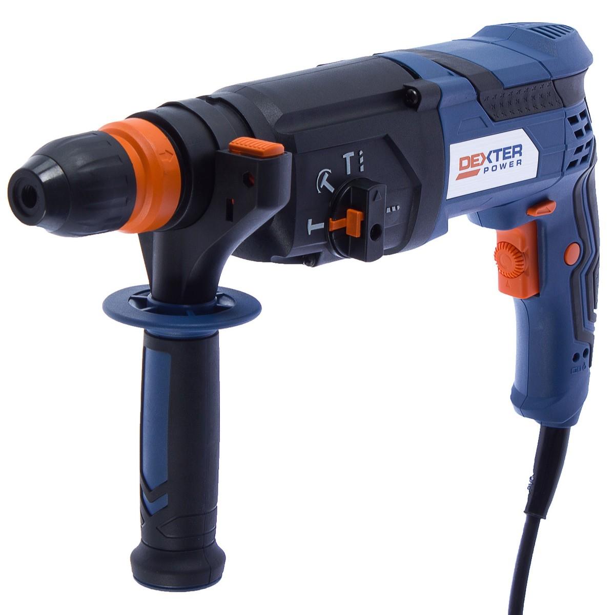 Перфоратор SDS-plus Dexter Power Z1C-HW-2662SREP 800 Вт 3 Дж