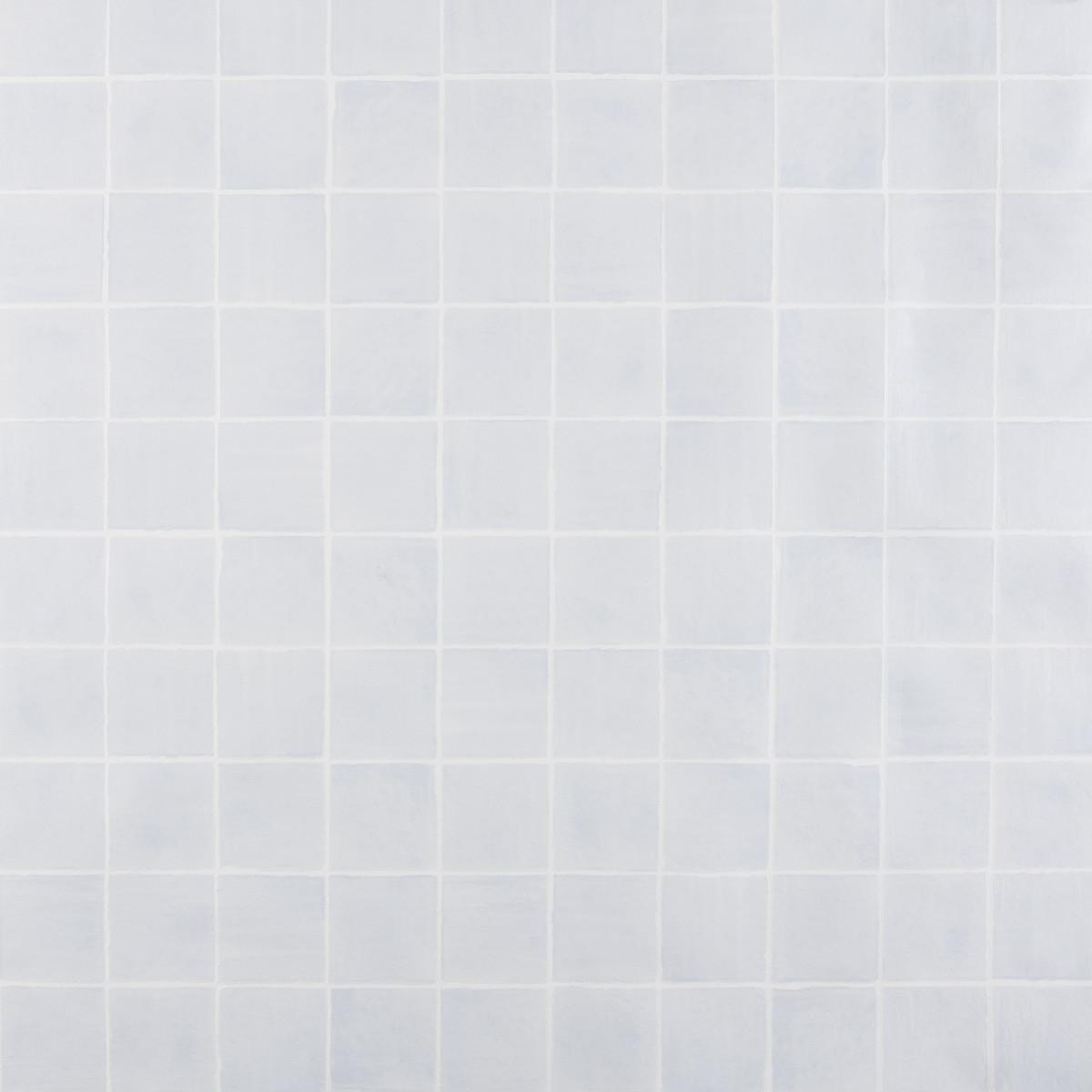 Обои виниловые 0.53х10 м плитка цвет синий АС 321343