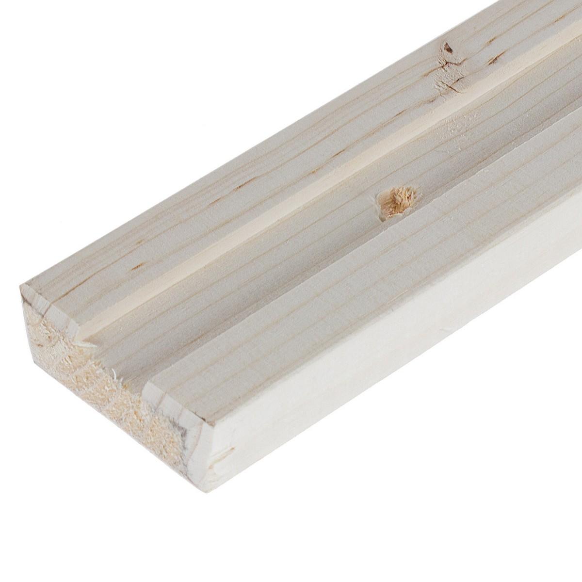 Стойка 1-х пазная для стеллажа 2000х50х18 мм 1 шт.