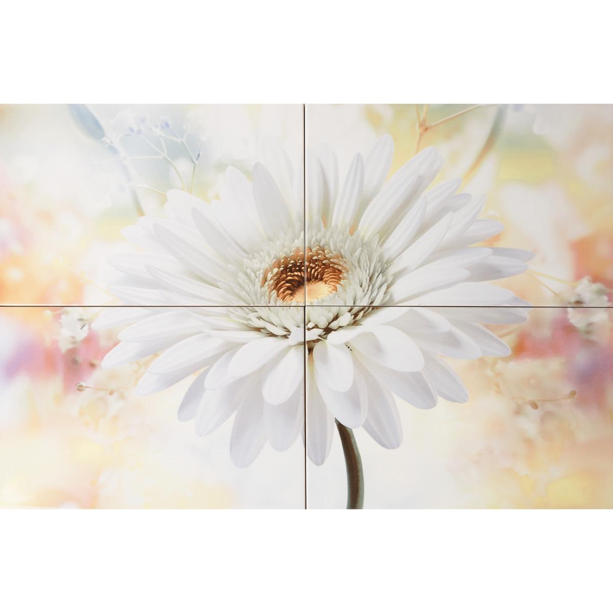 Панно Orchid 40х60 см цвет белая гербера