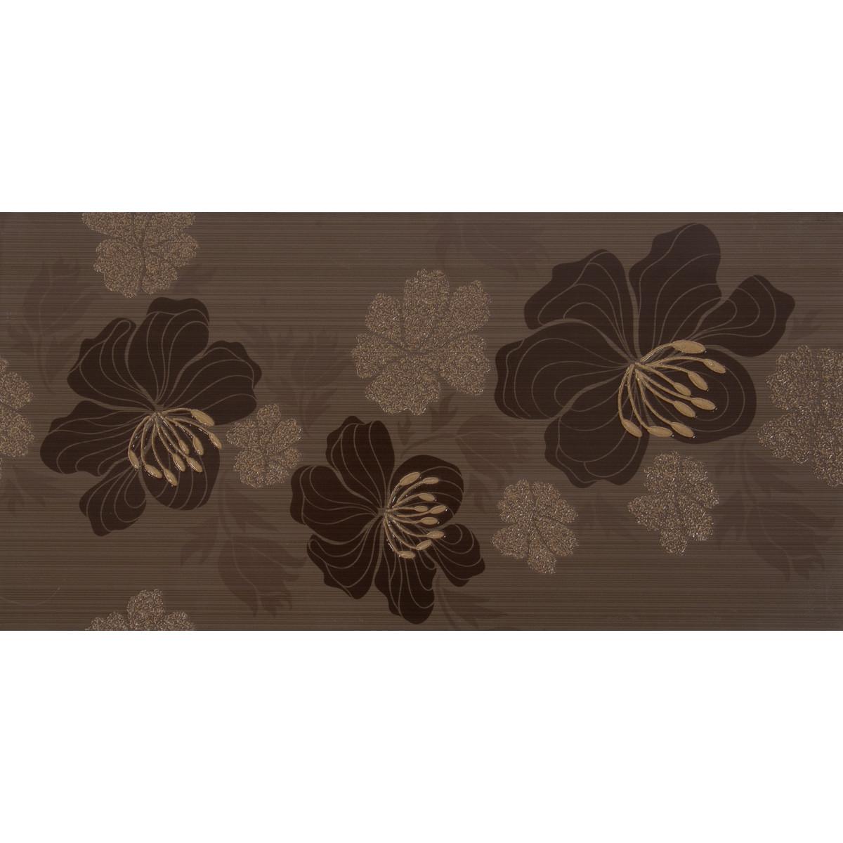 Декор «Элегия» 19.8х39.8 см цвет темный