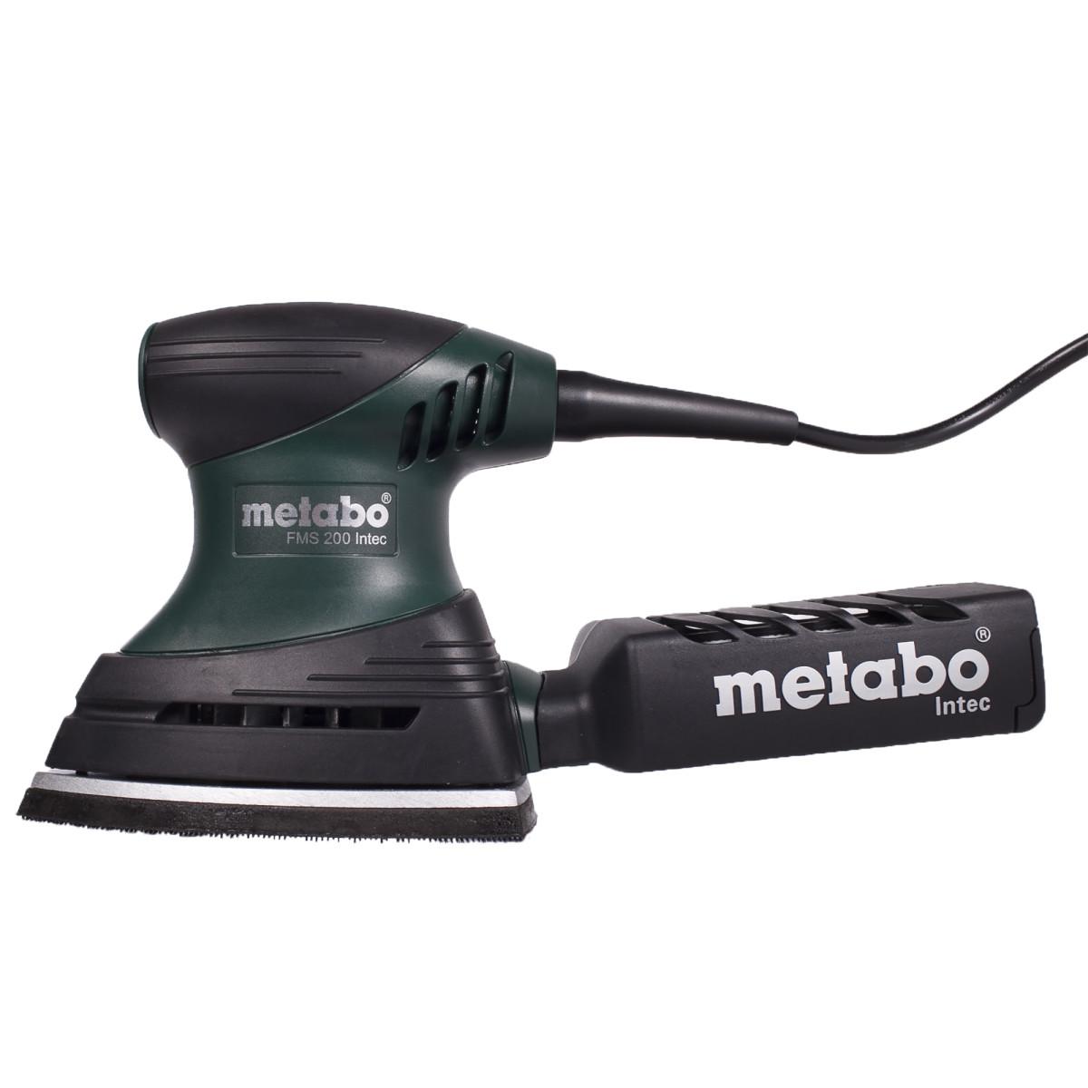 Дельташлифовальная Машина Metabo Fms 200 Intec 200 Вт