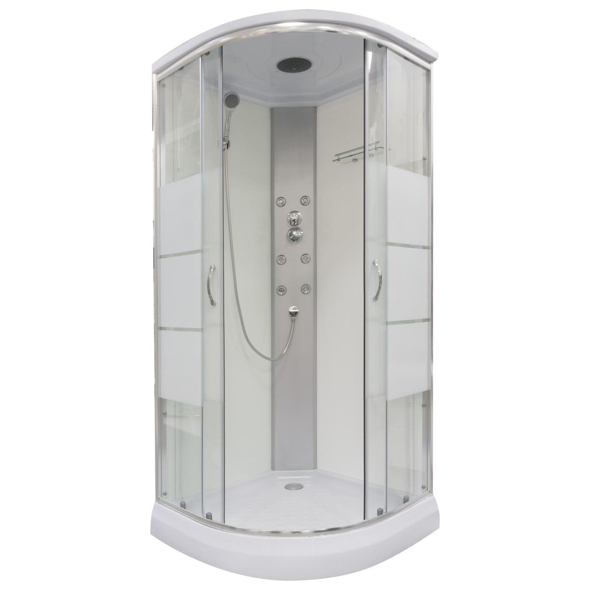 Душевая кабина Sensea Noa низкий поддон 90х90 см