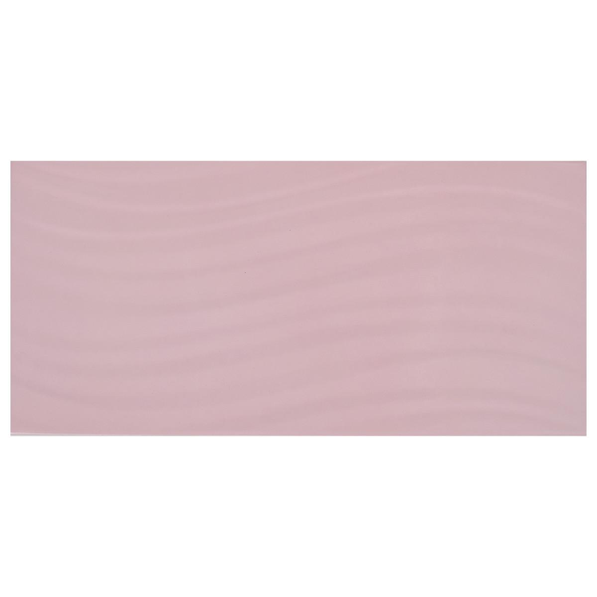 Плитка настенная Fortuna GT 39.8х19.8 см 1.58 м2 цвет светло-розовый