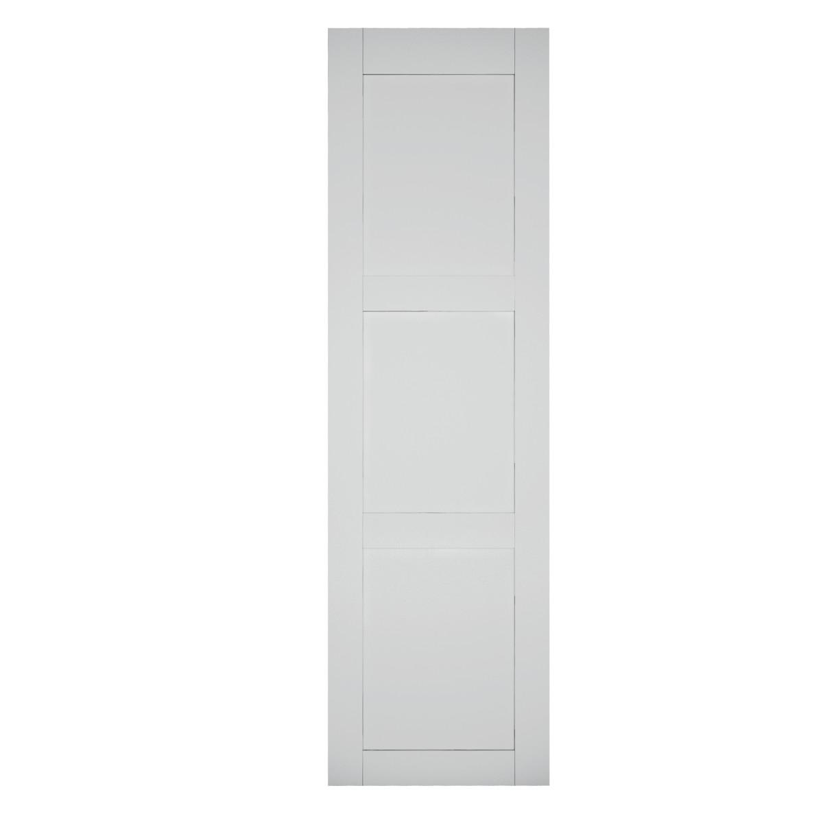 Дверь-купе Лорьян 2455х704 мм цвет белая эмаль