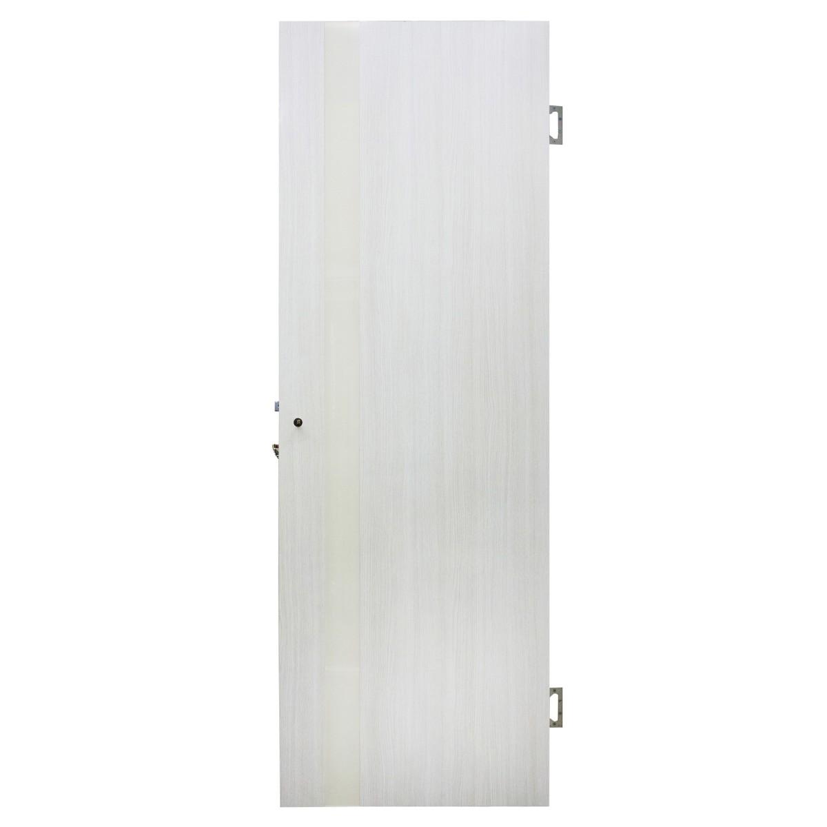 Дверь Межкомнатная Остеклённая Марсель Пвх 60x200 Белёный Дуб